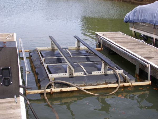 4 Corner Boat Lifts Floatair Boatlifts