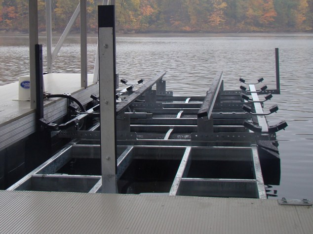 Front Mount Boat Lifts