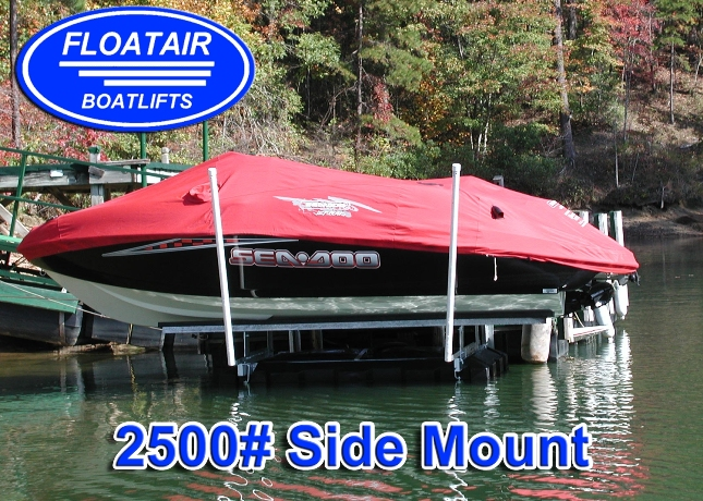 Side Mount Boat Lifts Floatair Boatlifts